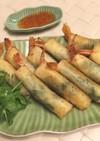 タイ料理エビ揚げ春巻き ポピアトートクン