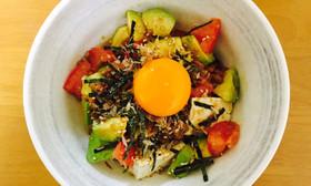 ダイエットに!簡単!アボカド豆腐サラダ