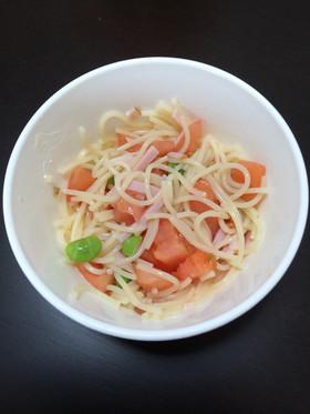 離乳食後期 夏野菜の冷製パスタ
