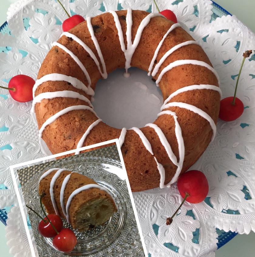 ドライフルーツのケーキ