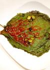 韓国家庭料理 エゴマの葉キムチ