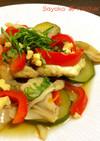 鰆とカラフル野菜のルボスティ重ね煮