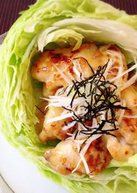 簡単♥️やわらか鶏むねの味噌マヨソース