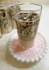 コーヒーゼリー牛乳
