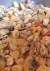 ごぼう筍水煮の煮物