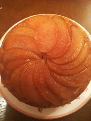 濃厚アップルケーキ炊飯器(シナモン風味)の写真