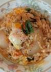 トマト雑炊(血管ダイエット食824)