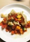 餃子の王将トマトのジュレと夏野菜スタイル