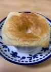簡単きのこスープのポットパイ