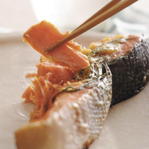 鮭のディル 味噌焼き