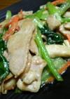 鶏胸肉・小松菜・エリンギの中華マヨ炒め