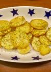 ホクホク 長芋ステーキ バター醤油焼き