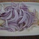 焼き魚+サラダ玉ねぎ