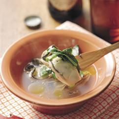 にら牡蠣鍋