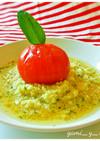 丸ごとトマトのクスクス~冷製スープ仕立て