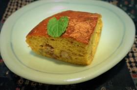 低糖質☆小麦粉なしのかぼちゃケーキ