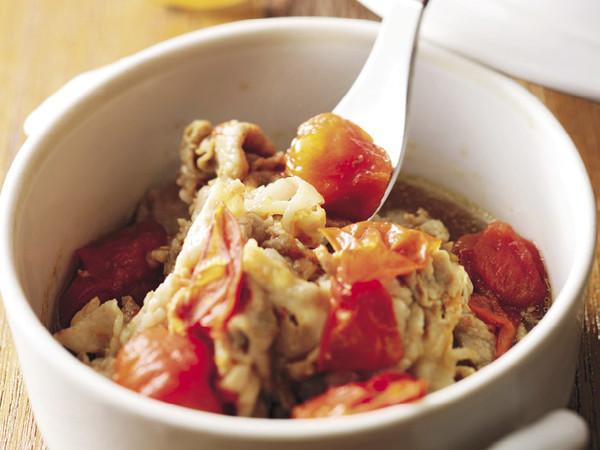 トマト豚バラ煮込み