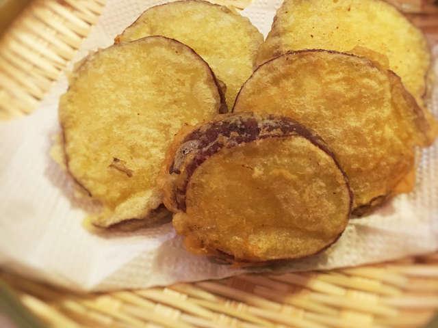 さつまいも 天ぷら レシピ 人気