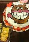 バイキンマンのアイスケーキ