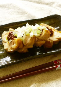 鶏肉+醤浜納豆(ジャンハマナットウ)