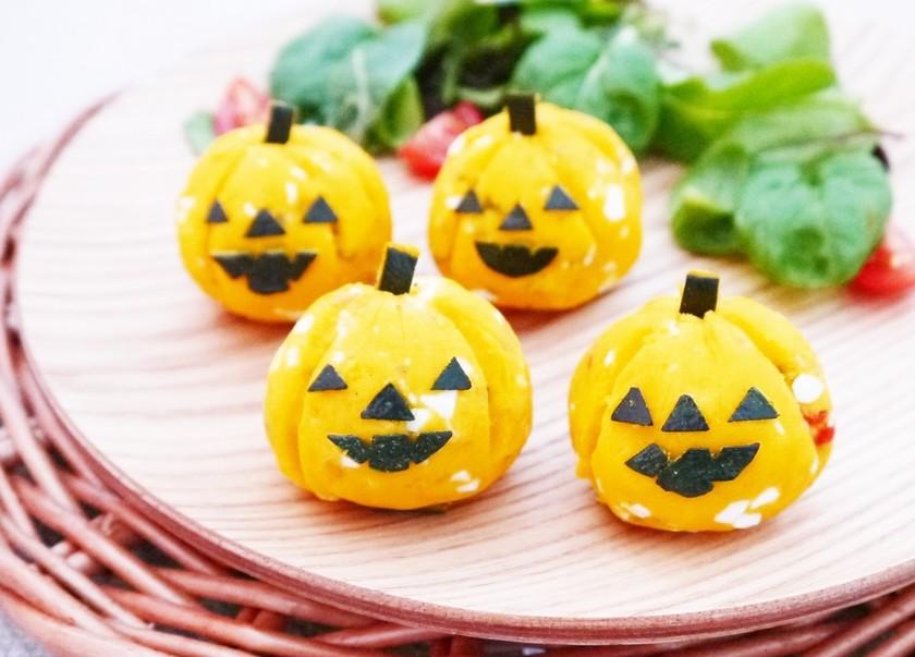 ハロウィンに★お弁当にも♪かぼちゃサラダ