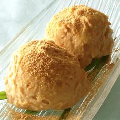 ミキサーで簡単!きな粉とさつま芋のアイス