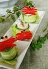 蟹座のカニサラダ
