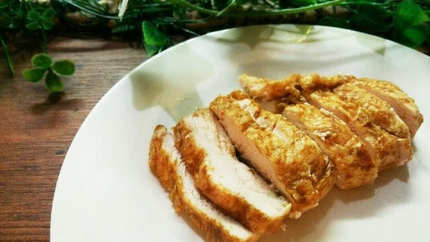 セブンイレブン風サラダチキン(カレー味)