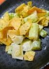 マヨで美味しい♪セロリとポテチのサラダ