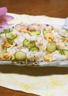 【京都丹波】炒り卵のちらし寿司