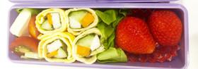 糖質オフの小さなおかず 野菜の卵巻き
