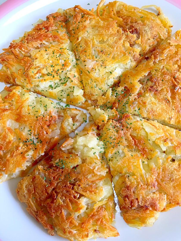 簡単なチーズ味じゃが芋ガレット