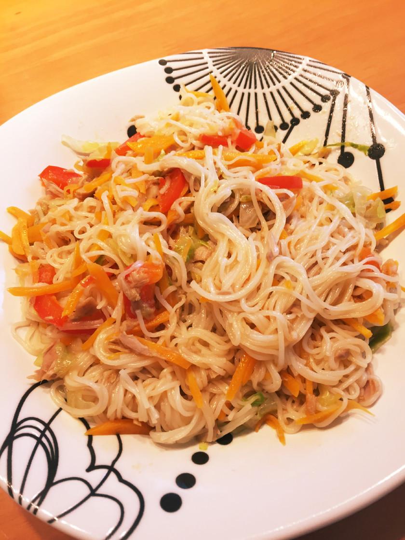彩り素麺チャンプルー