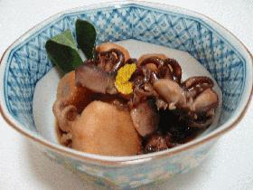 いい蛸と里芋の煮物