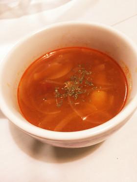 捨てないで!余ったミートソースでスープ