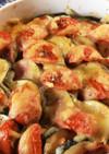 オーブンで簡単!ズッキーニのチーズ焼き