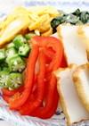 夏野菜を摂ろう!さしみ天ぷら素麺