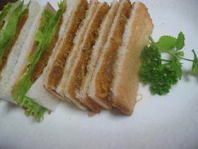 作りおき出来るサンドイッチのカレー玉ねぎ