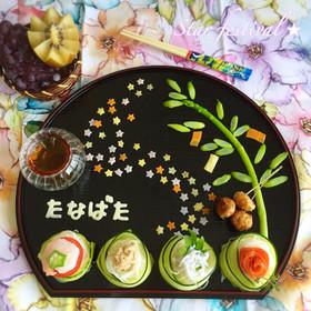 幼児食★七夕プレート♡2016