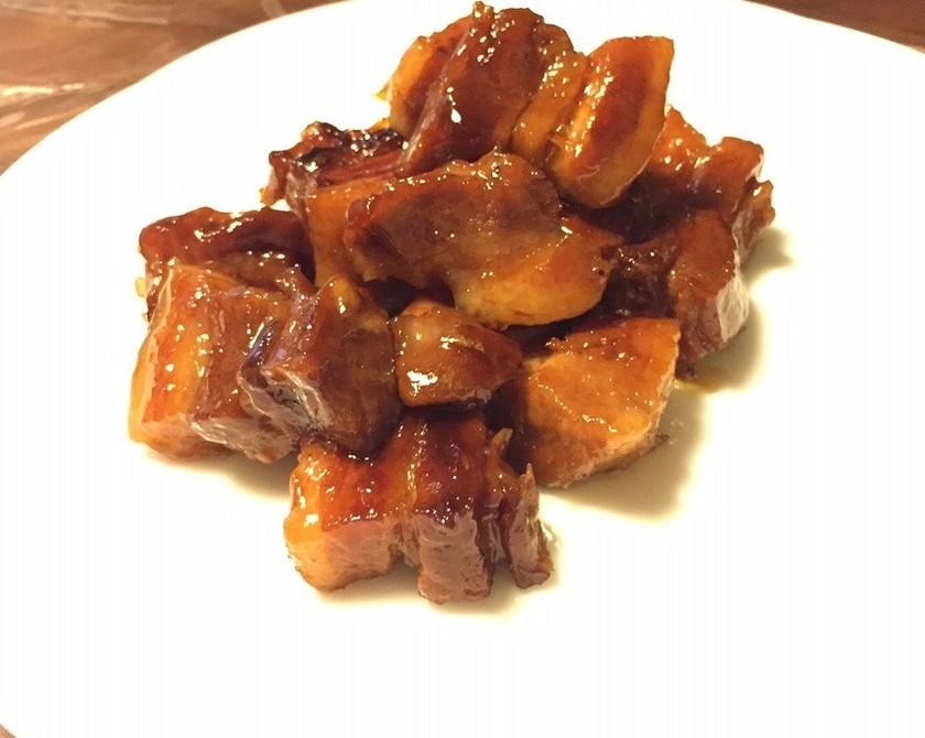 ダッチオーブン 豚バラ マーマレード煮