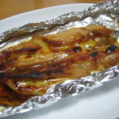 鶏ささみとチーズのホイル焼き