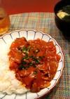 豚汁リメイク和風根菜カレー