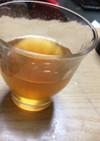 レモンとミントシロップのジュース