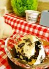 簡単*クッキークリームのアイスクリーム☆