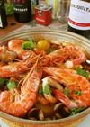 ポルトガル流トマト魚介鍋♪カタプラーナ