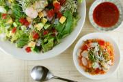 野菜盛りだくさん♪韓国風海鮮ビビンバの写真