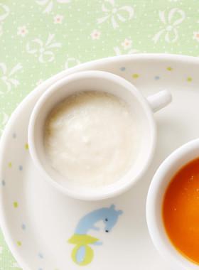 離乳食初期:とろーり豆腐
