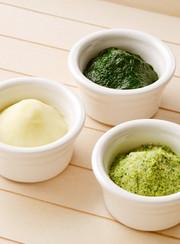 離乳食初期:野菜ペーストの冷凍保存①の写真