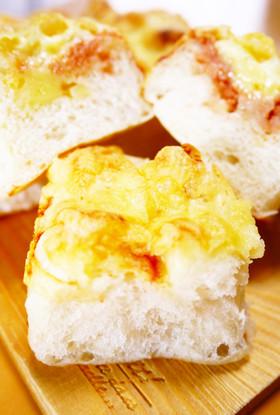 明太子マヨチーズソフトフランスちぎりパン