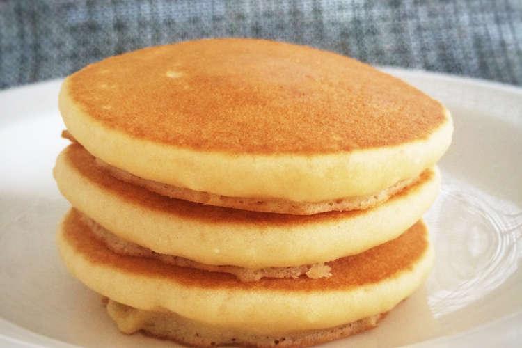 米粉 の パン ケーキ 【みんなが作ってる】 米粉 パンケーキのレシピ